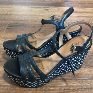 Clarks Artisan Wedged Shoe
